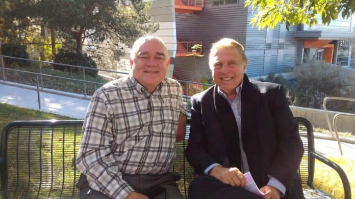 Robert Sprague with Pete Allman