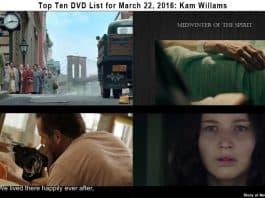 Top Ten DVD List for March 22, 2016: Kam Willams