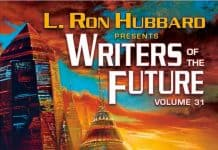 Writers of the future book cover image.