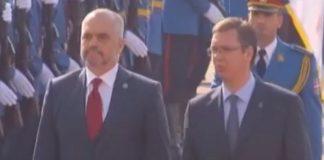 Albanian and Serbian Leaders.