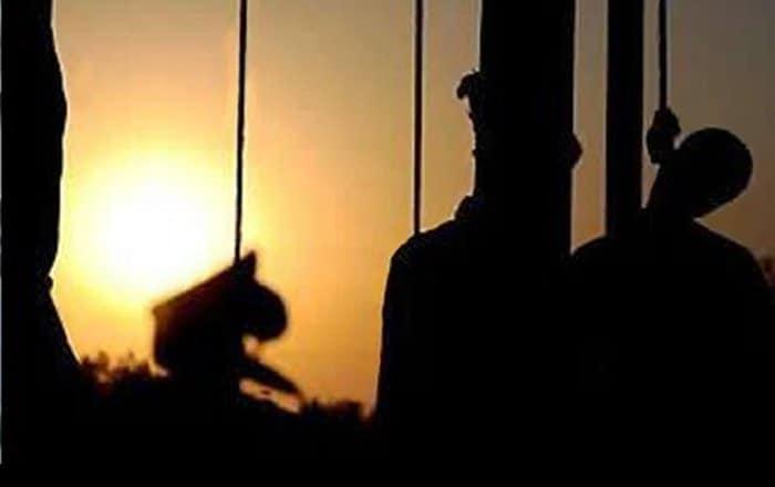 iran hangs political prisoners.
