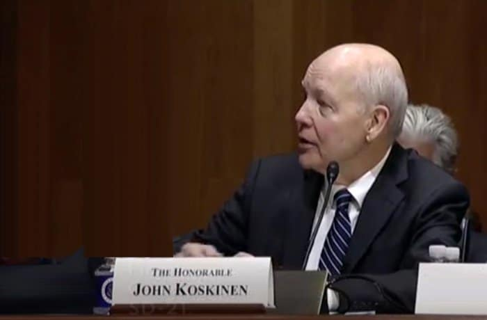 irs commissioner koskinen.