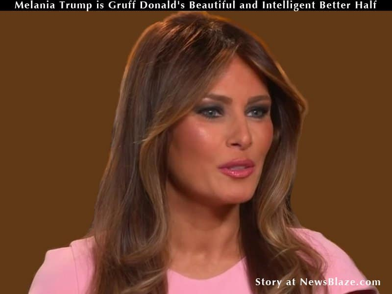 Melania Trump is Gruff Donald's Beautiful and Intelligent ...