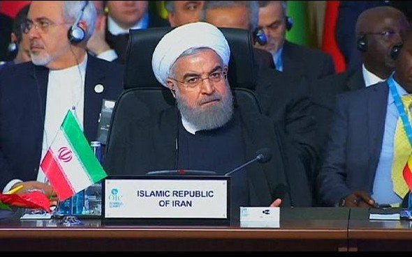 Iran at the OIC before the strike in Bahrain.