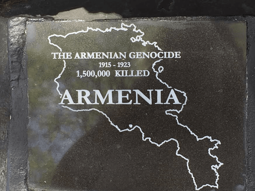 Armenia's genocide ignored by the world. Photo by Nurit Greenger.
