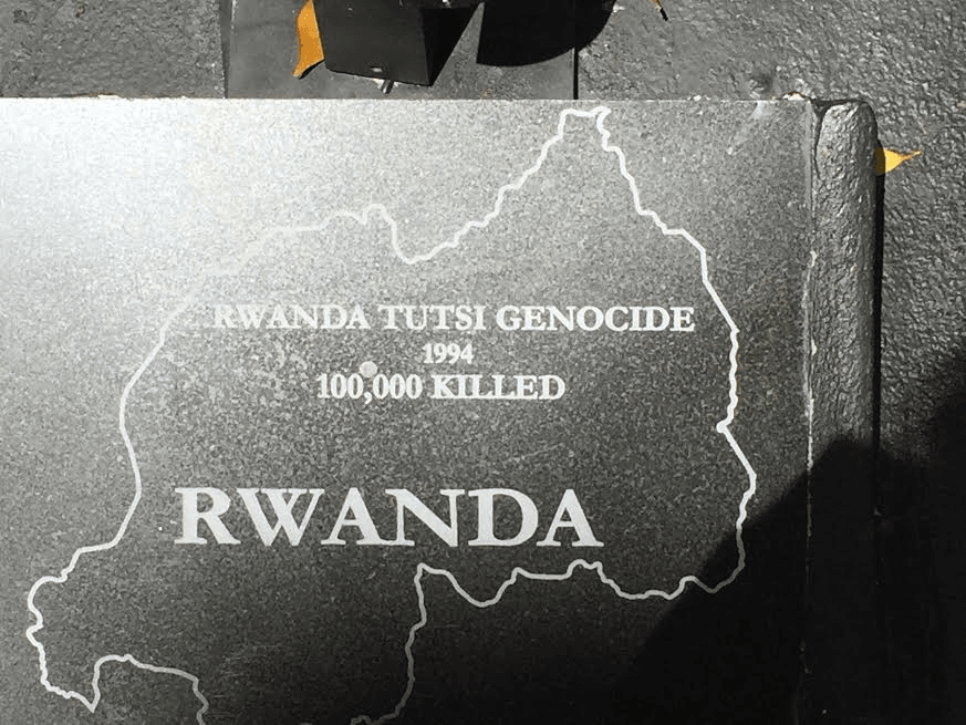 Rwanda's Genocide, where was the world?. Photo by Nurit Greenger.