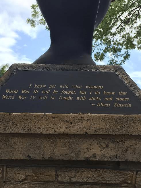 Einstein's saying