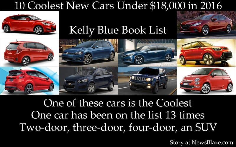10 coolest new cars for 2016.