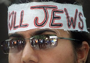 In the streets of the West demonstrators call to kill Jews