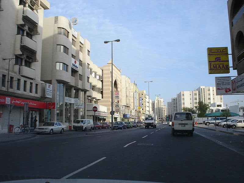 Bahrain, Exhibition Avenue - photo: shijaz abdulla