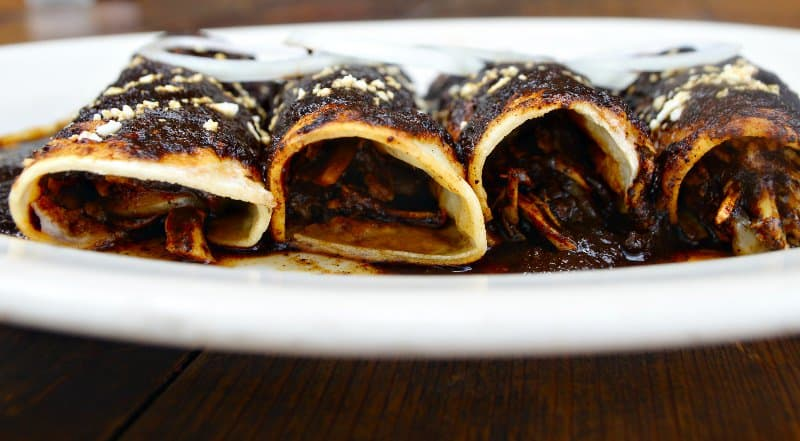 Enchilada Mole.