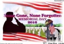 Memorial Day 2016.