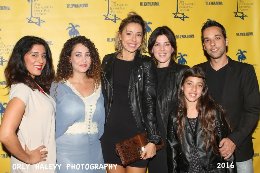 LAJFF-R-Amit Cohen co-creator of the series Kfulim with family