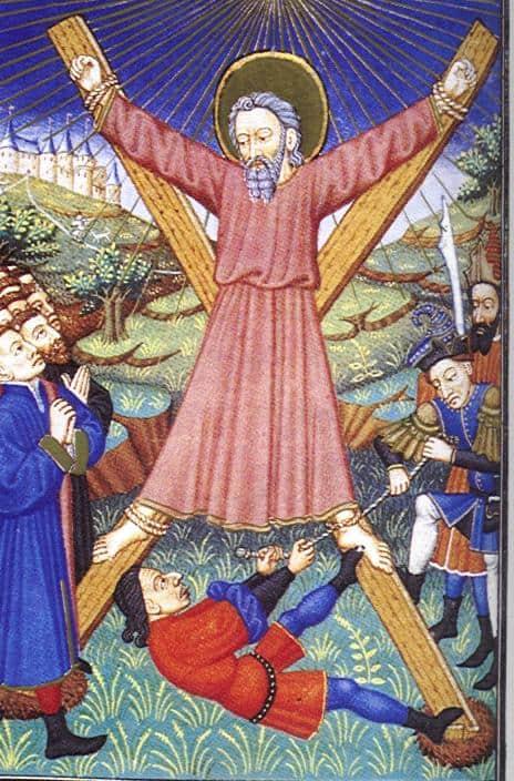 Martyrdom of andrew.