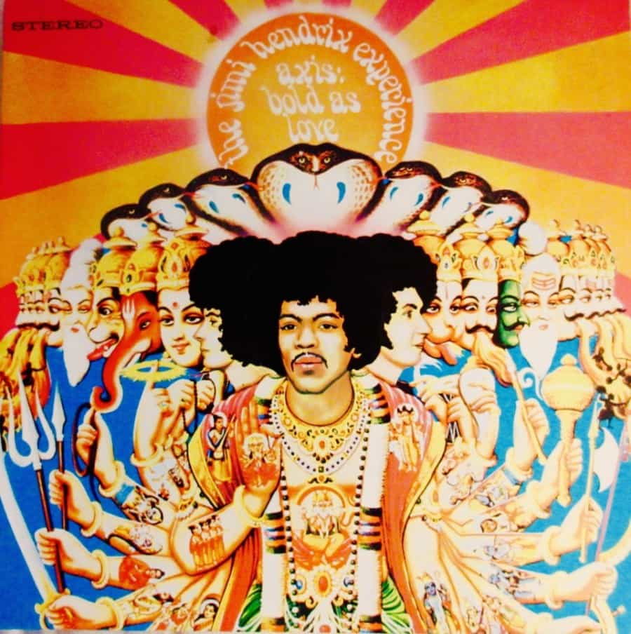 Axis Bold As Love/Jimi Hendrix Experience