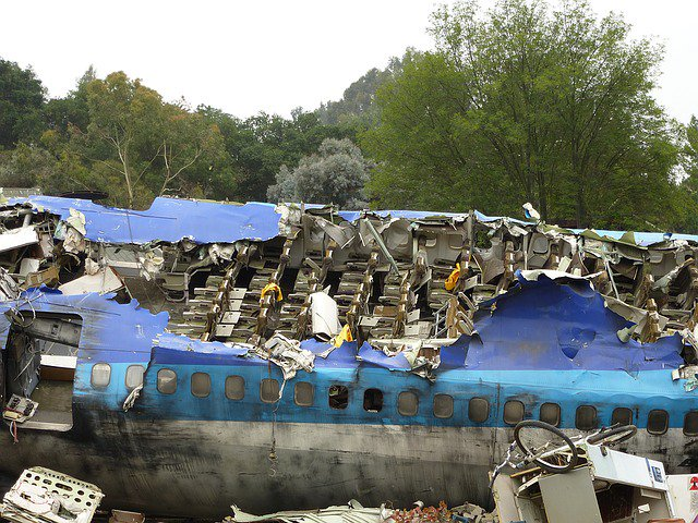 Egyptair Flight MS804. Airplane crash wreckage. Image by XMCWX from Pixabay
