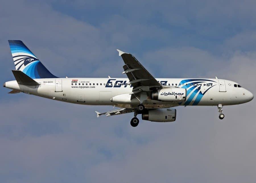 An Egyptair Airbus A320.