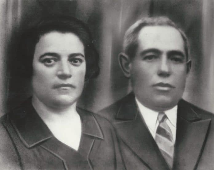 grandparents my mothers parents rivka gurewitz katz and yoseph katz
