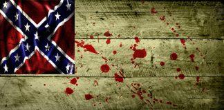 grunge flag of confederacy by evmir1
