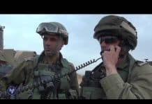 IDF soldiers call in.
