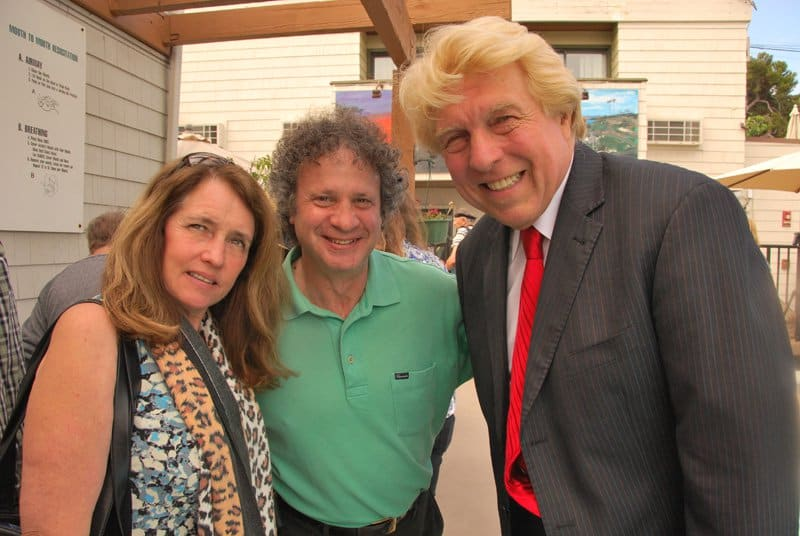 Laguna Beach Mayor Mr. & Mrs. Steve Dicterow, Pete Allman.