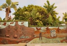 Main Beach Panorama Mural.