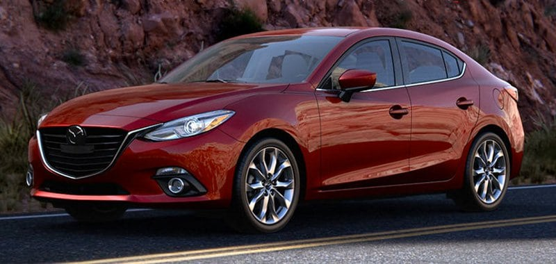 coolest new car, the Mazda 3