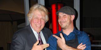 Pete Allman and executive chef Chris Binitto.
