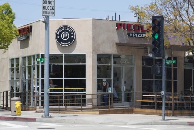 Pieology at Culver and Main.