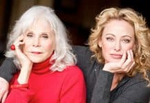 Virginia Madsen and Elaine Madsen.