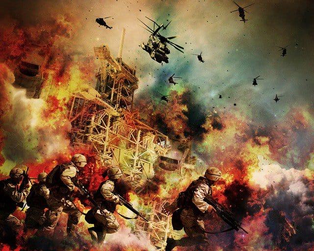 War rages in Falluja.