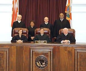 Florida Supreme Court Justices 2014