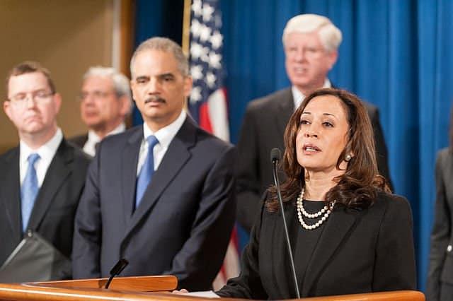 California Attorney General Kamala Harris, open carry case.