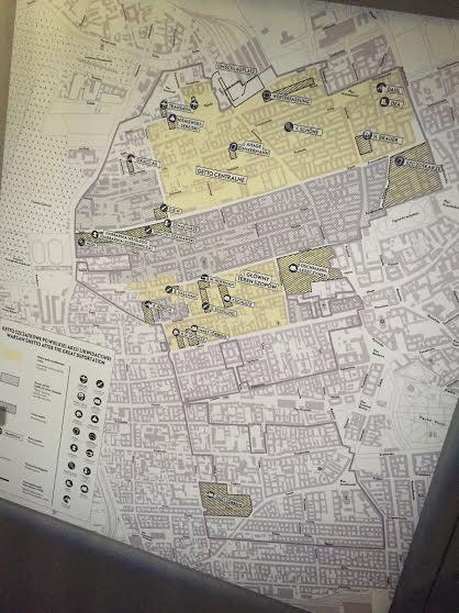 Ghetto Warsaw map.