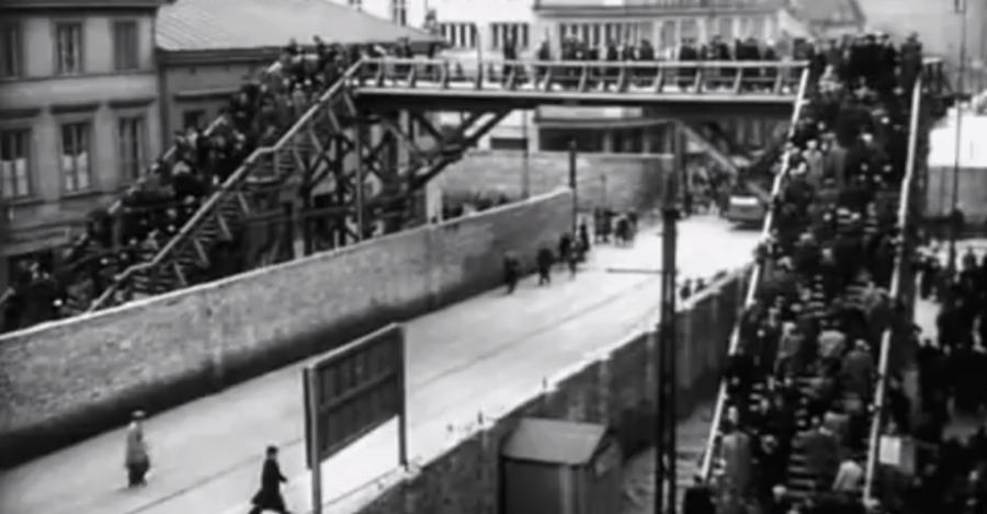 Ghetto-the original bridge to enter the ghetto.