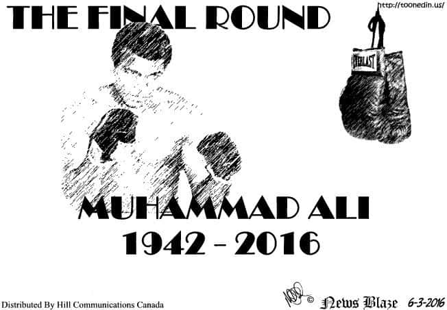Muhammad Ali fights the final round.