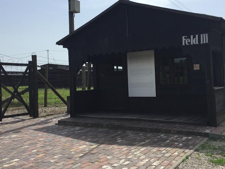 Majdanek - Feld III Entrance.