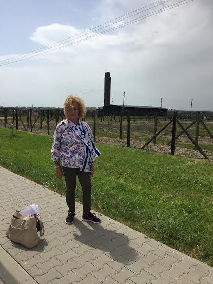 Majdanek - I stand witness to the main crematorium.