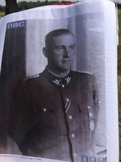 Odilo Globocnik Austrian, born in Slovenia-a prominent Austrian Nazi and later an SS leader - the top commandant of the entire Lublin Camps System.