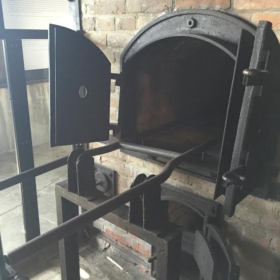 Majdanek - a single oven to burn Jews.
