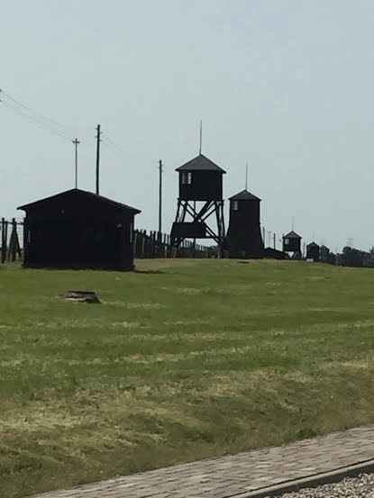 Majdanek - view of the camp.
