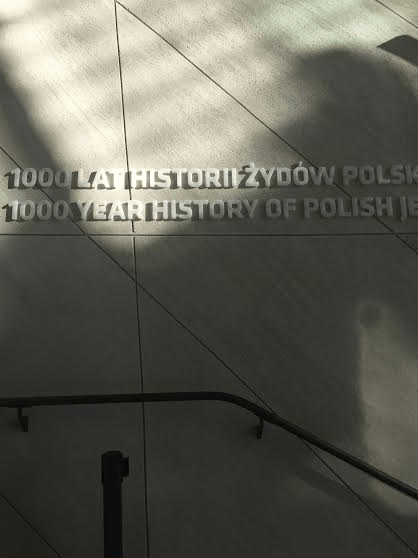 Polin Museum, 1000 years of Jewish History in Poland.