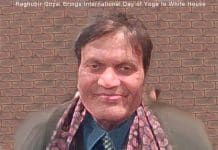 Raghubir Goyal - International Day of Yoga.
