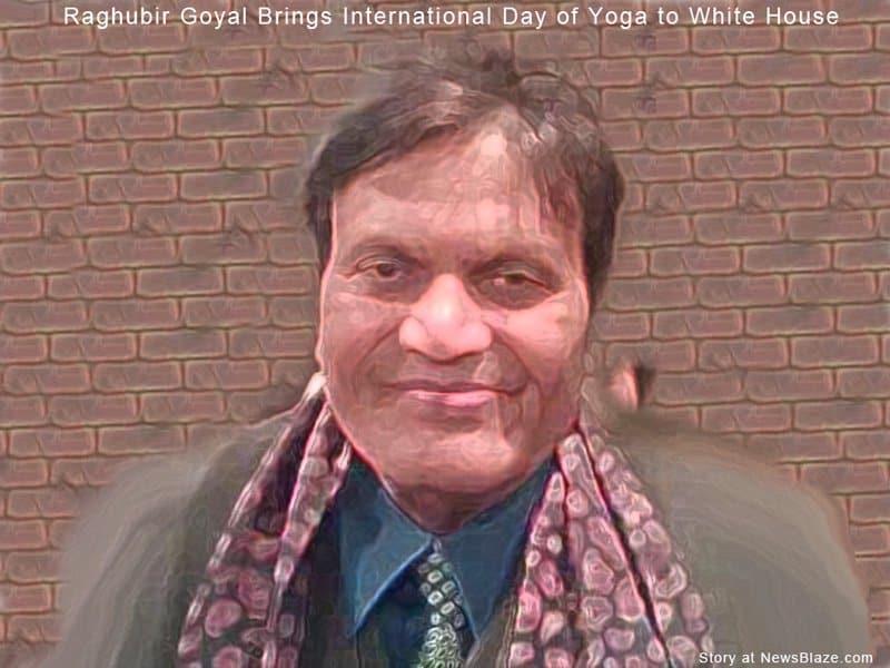Raghubir Goyal - International Day of Yoga.