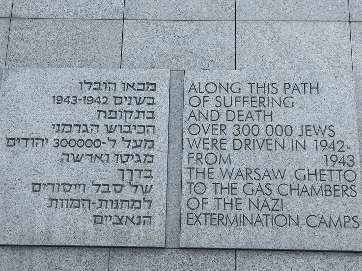 Umschlagplatz inscription-English.