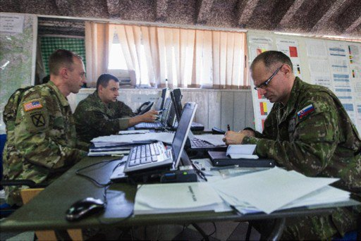 reviewing anakonda operations plan.