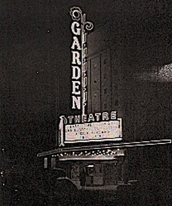 garden theatre exterior.