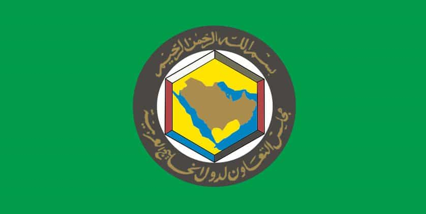 gulf cooperation council flag.