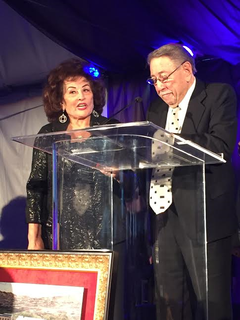 Len and Selma Fisch recipients of the Visionaries and Founders Award-photo N Greenger.