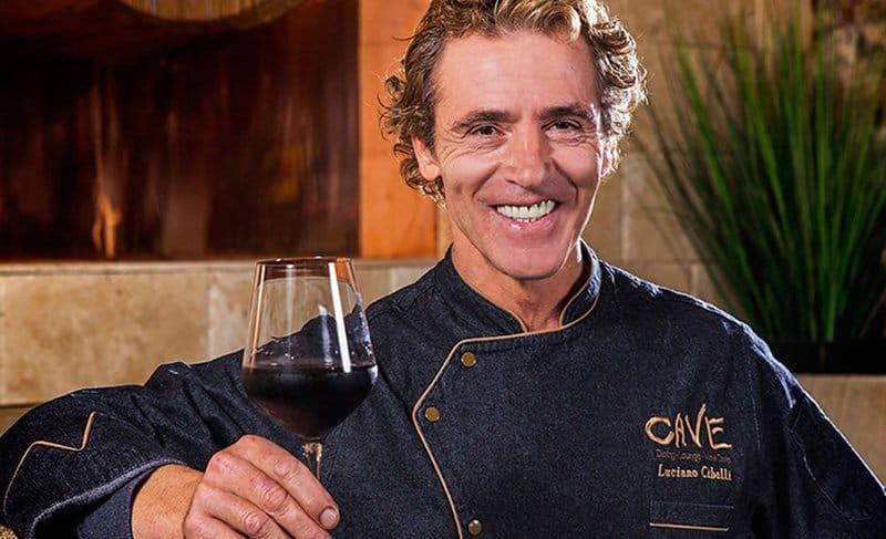 Chef Luciano Cibelli.